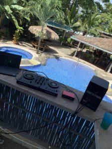 DJ Booth Puerto Viejo
