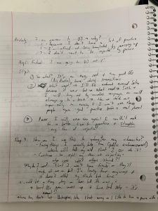 Stoic journaling